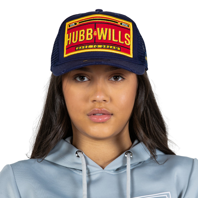 Hubb and Wills Patch Hat