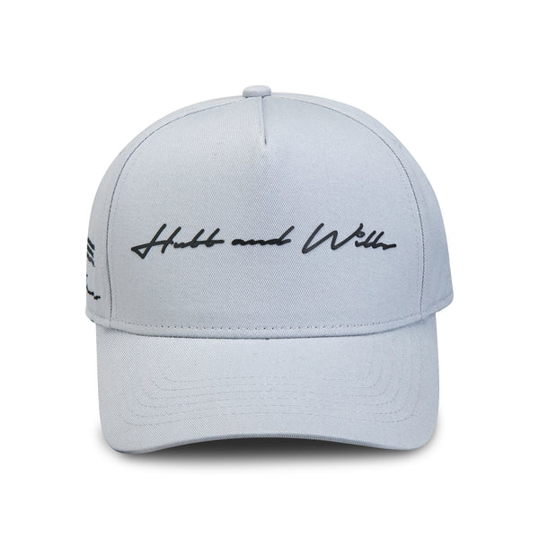 Hubb and Wills Scripted Cap - Grey