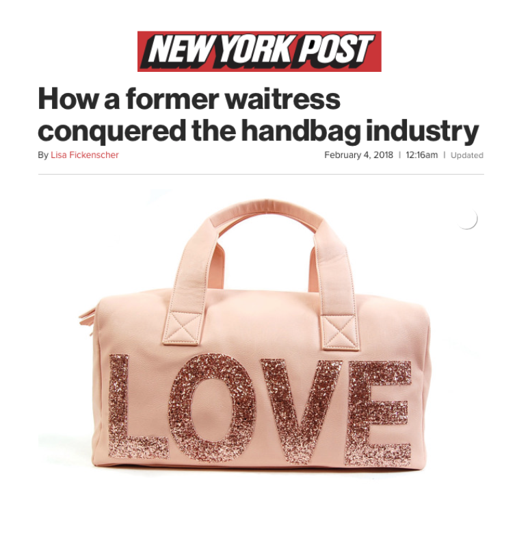 How A Former Waitress Conquered The Handbag Industry