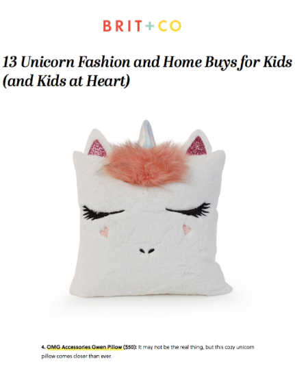 13 Unicorn Fashion and Home Buys for Kids (and Kids at Heart)