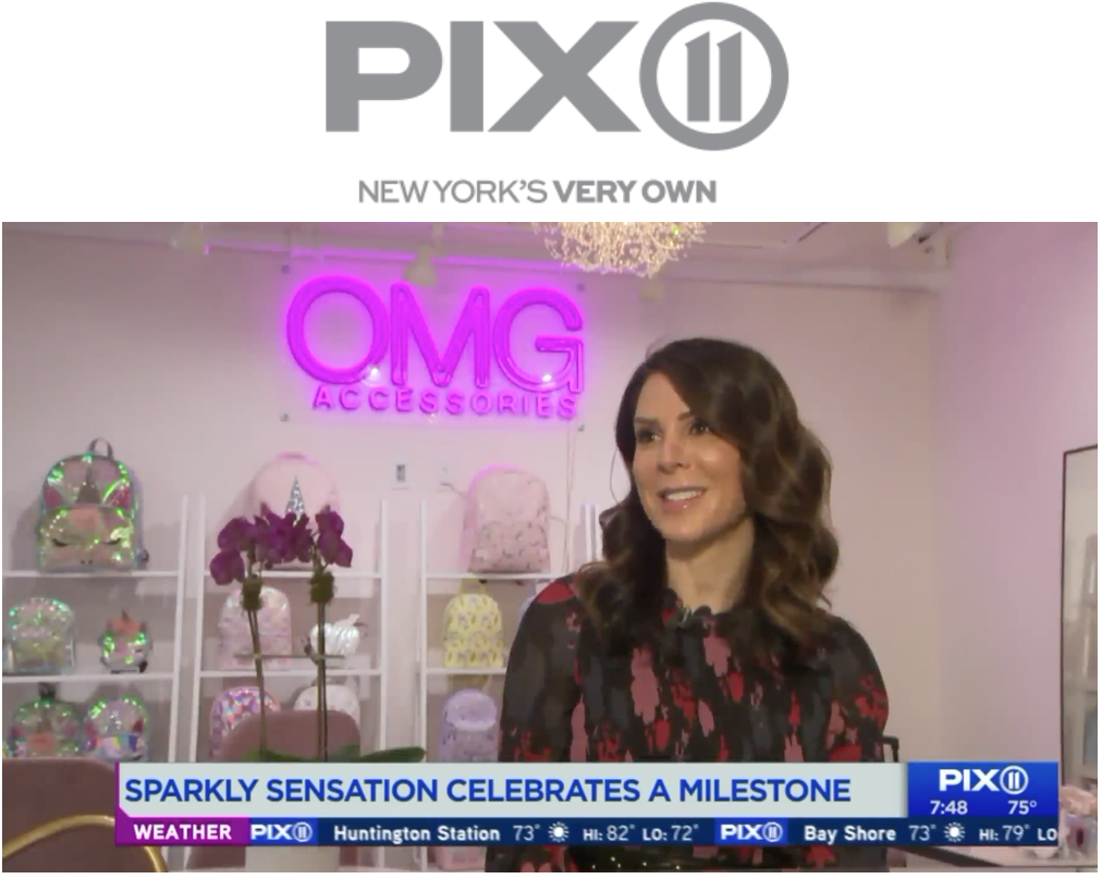 OMG ACCESSORIES CELEBRATES 10 YEAR MILESTONE WITH PIX11