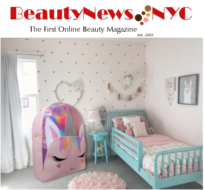 OMG ACCESSORIES LIFE SIZE BACKPACK FEATURED IN BEAUTY NEWS NYC!