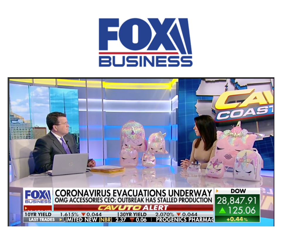 CEO & Founder, Anne Harper of OMG Accessories sat down with Neil Cavuto at Fox Business