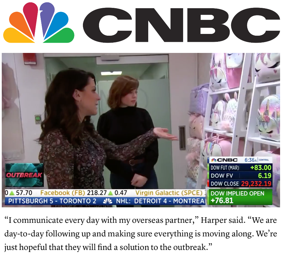 OMG's Founder and CEO, Anne Harper talks with CNBC