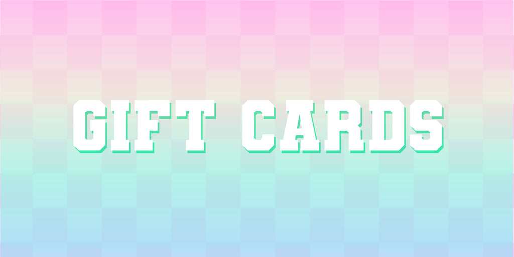 Gift Card $25 - $500
