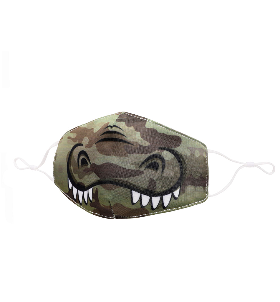 Gator Camo Printed Icon Face Mask (Final Sale)