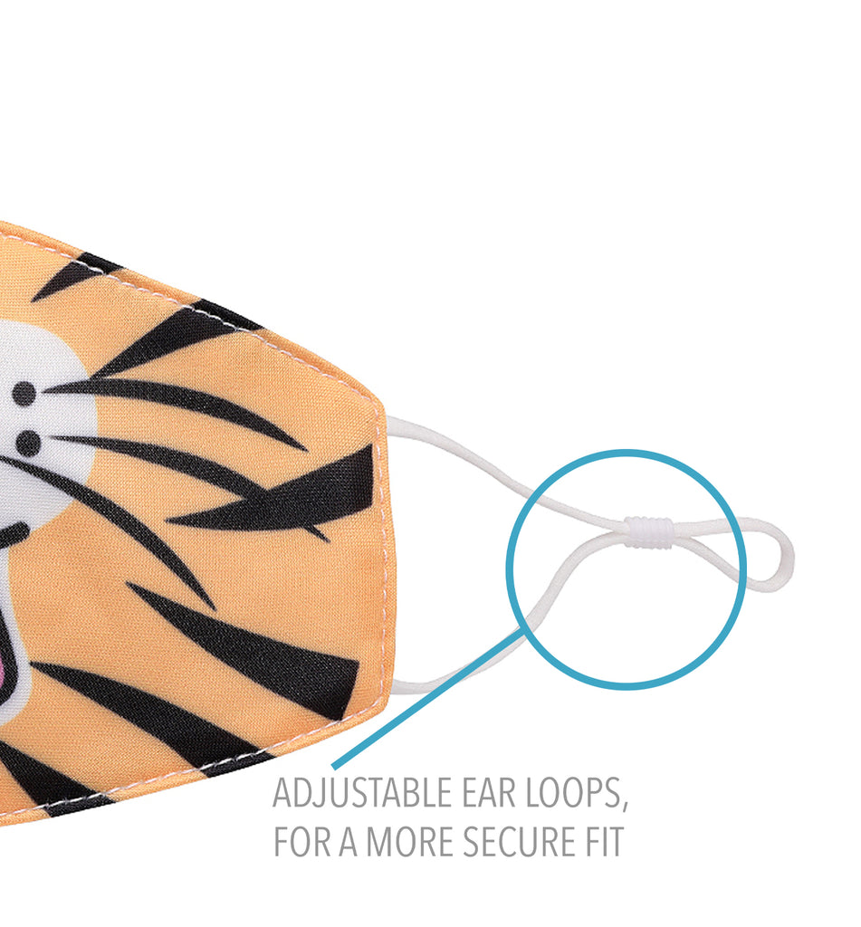 Roaring Tiger Icon Face Mask (Final Sale Item)