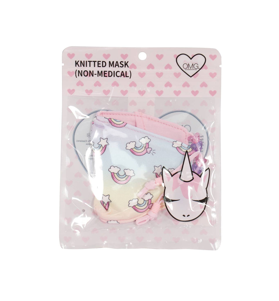 Over the Rainbow Print Face Mask (Final Sale Item)