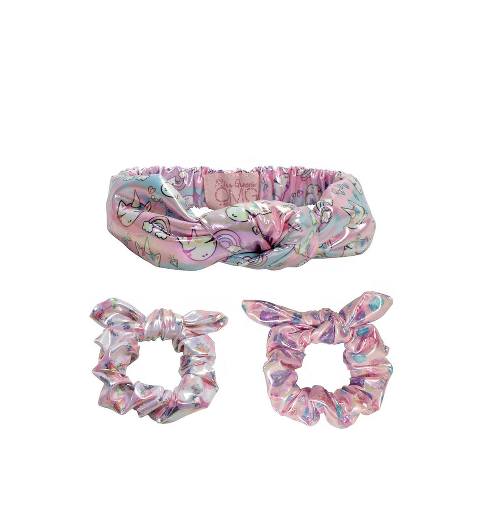 Miss Gwen Bling Headband and Scrunchies Set