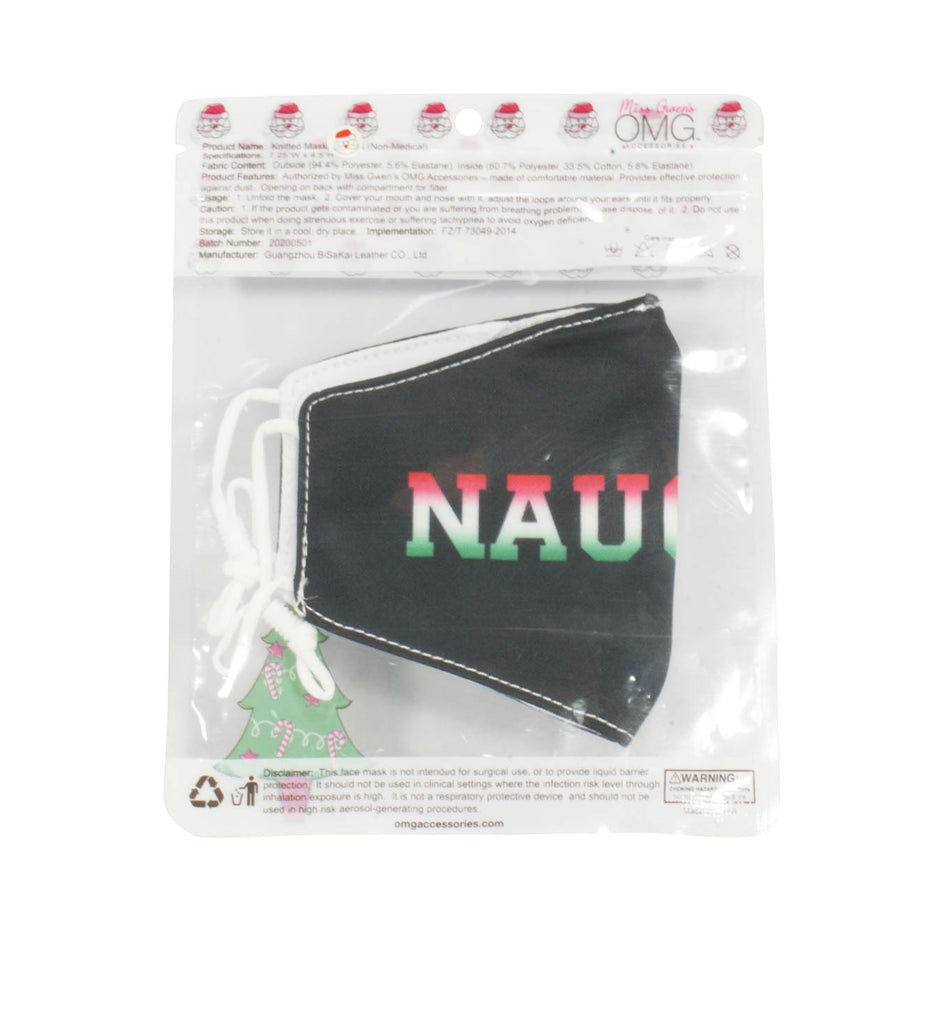 Naughty Printed Face Mask (Final Sale Item)