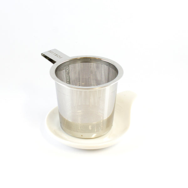 Strainer with Ceramic Plate