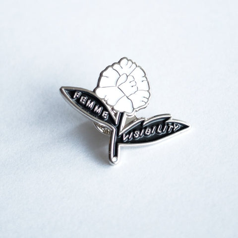 Femme Visibility Lapel Pin