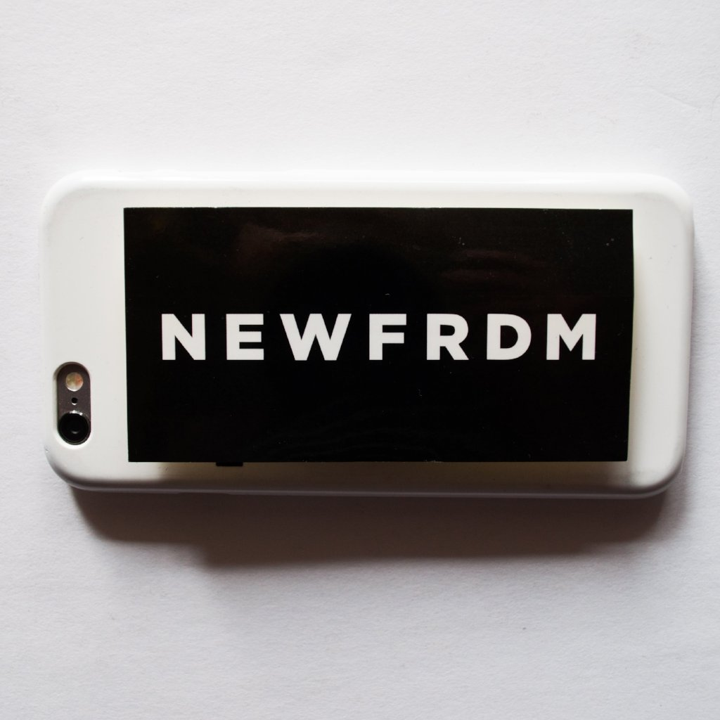 NEWFRDM Sticker