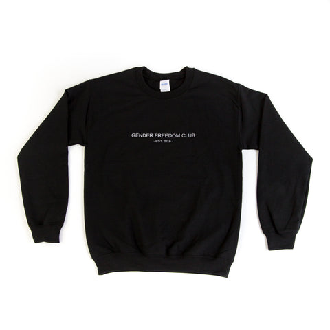 Gender Freedom Club Crewneck