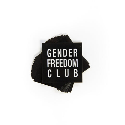 Gender Freedom Club Sticker