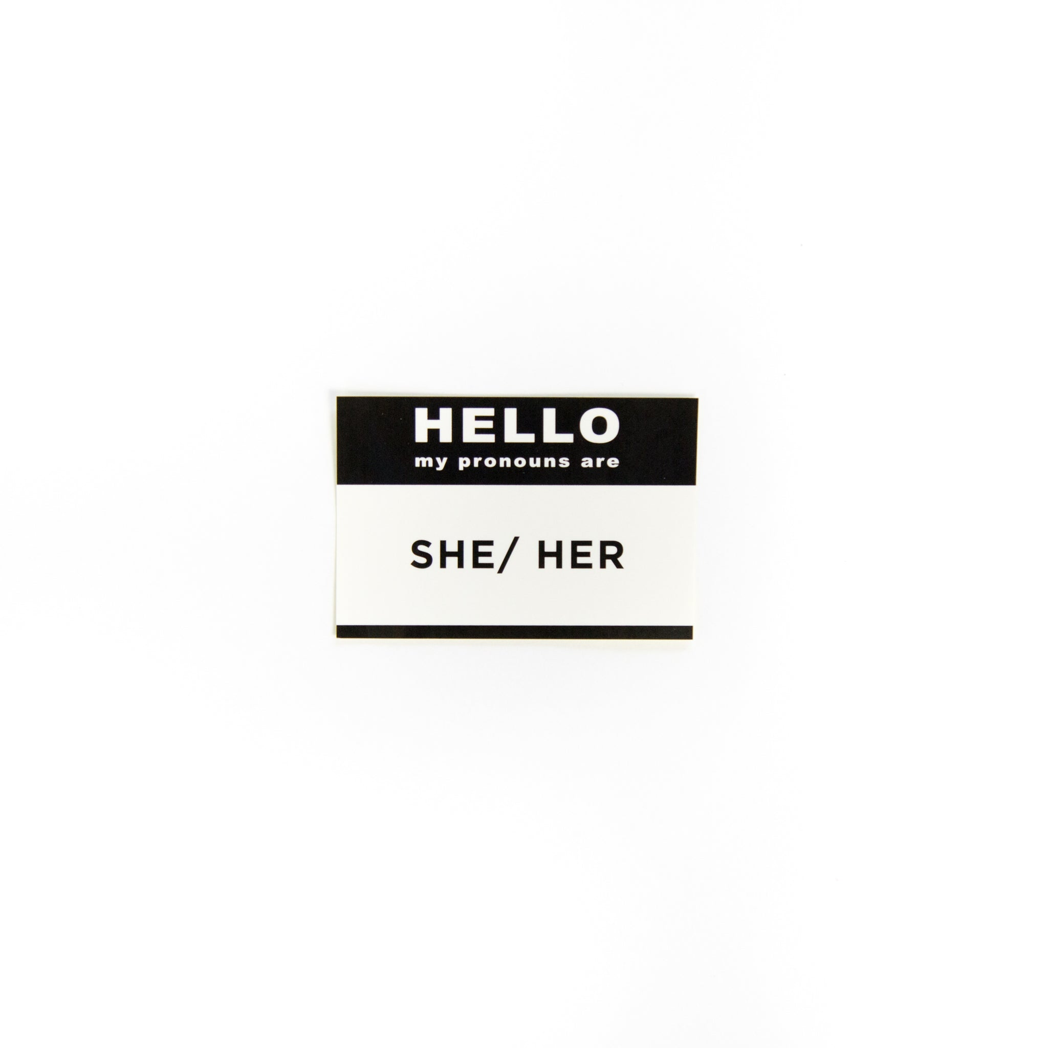 Pronoun Stickers