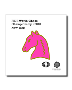 Official FIDE Chess Championship 2016 Pin (Multi colors)