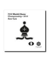 Official FIDE Chess Championship 2016 Pin (Black)