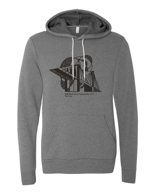 Official FIDE Chess Championship 2016 Hoodie - Bridge