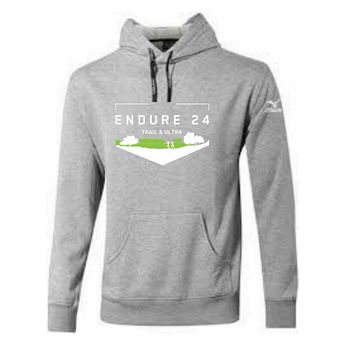 Mizuno Endure24 Hoody Grey