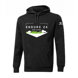 Mizuno Endure24 Hoody Black