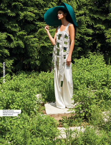 Zero Waste Designer Malaika New York zero waste dress