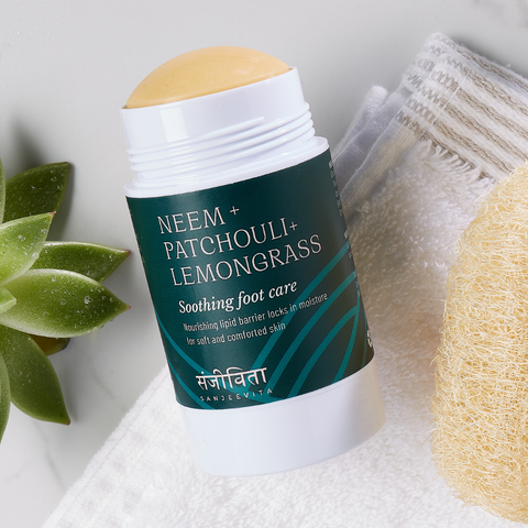 sustainable and vegan foot balm that works
