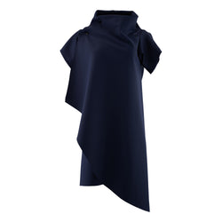Zero Dress Knee Length Navy