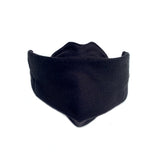 1 Black Origami Cloth Mask With Filter Pocket & DWR