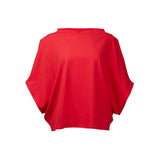 Hexagon T-Shirt Organic Cotton Red