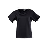 Lopsided T-shirt Black