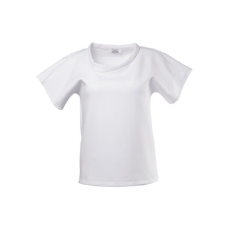Lopsided T-shirt White