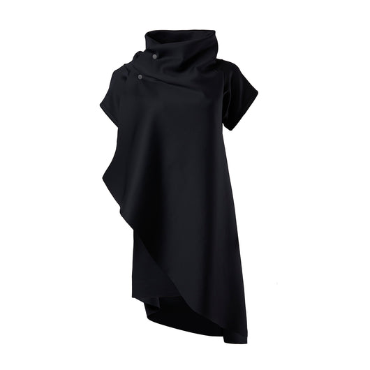 sustainable knee length dress black