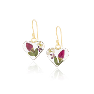 Earrings - Real Flower Jewelry