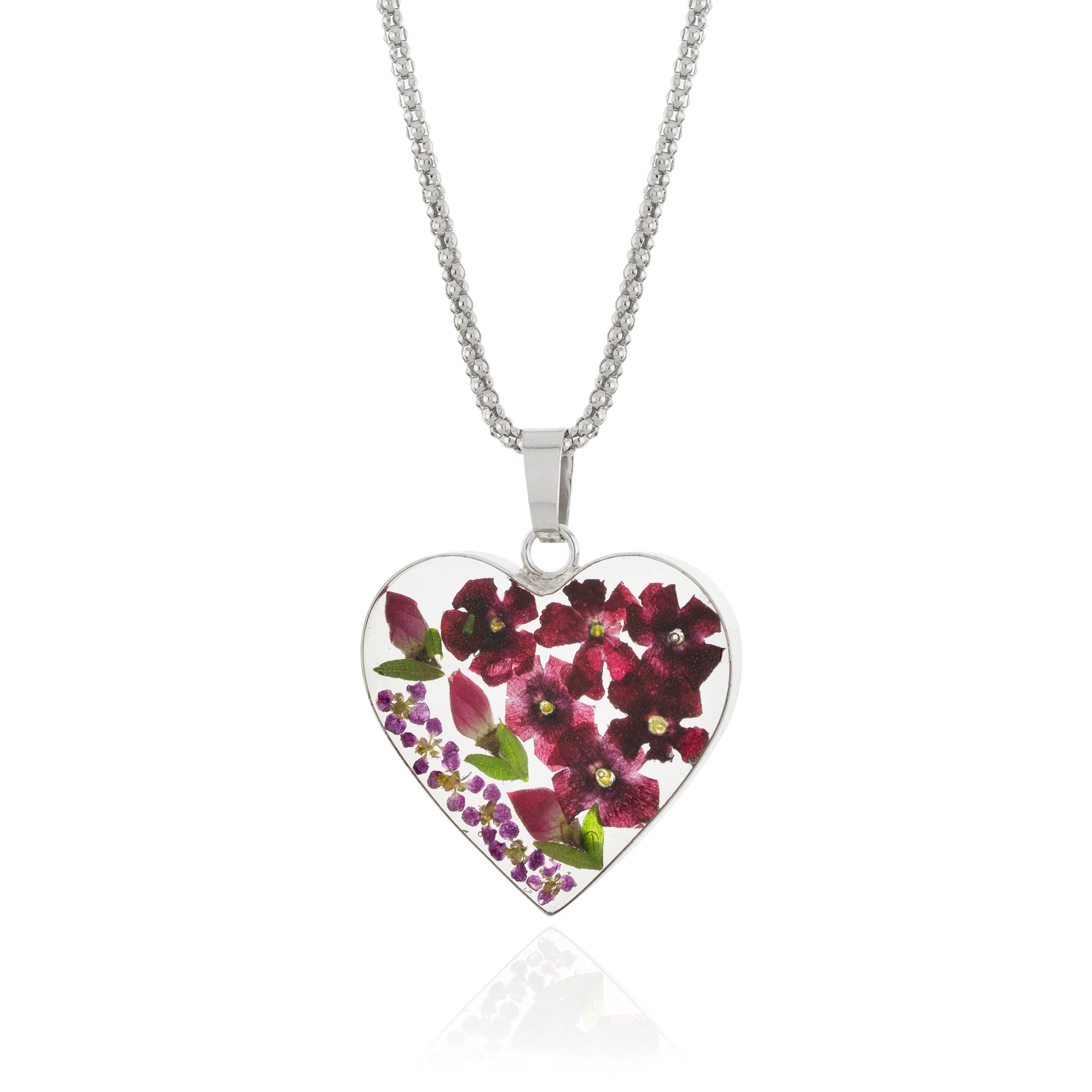 pink products emerson victoria silver stone pendant necklace