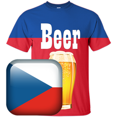 Czech Republic Beer T-shirt