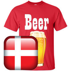 Denmark Beer T-shirt