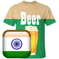 India Beer T-shirt