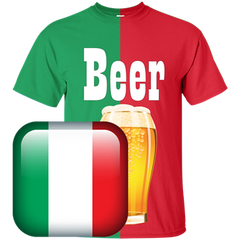 Italy Beer T-shirt