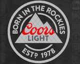 Coors Light Beer Logo SVG PNG