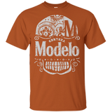 Modelo Especial Beer T-Shirt Custom Designed Color Worn Label Pattern