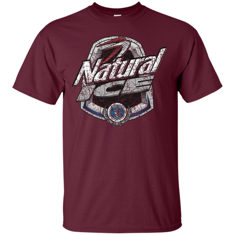 Natural Ice Beer Brand Logo Label T-Shirt