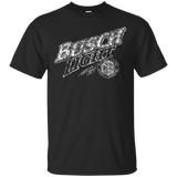 Busch Light Beer Brand Logo Label T-Shirt