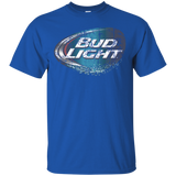 Bud Light Beer Brand Logo Label T-Shirt