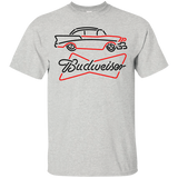 Budweiser Beer Brand Logo Label T-Shirt