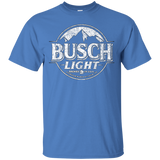 Busch Light Beer T-Shirt Custom Designed White Worn Label Pattern