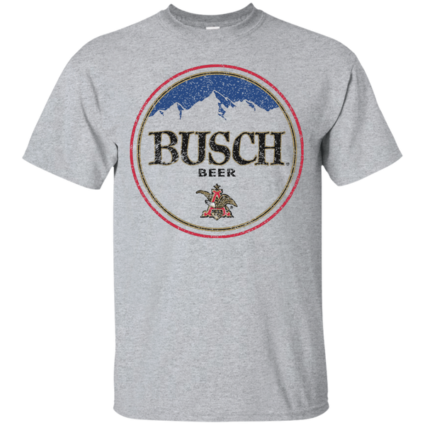 756829b2 Busch Beer T-Shirt Custom Designed Color Round Worn Label Pattern –  BeerTshirtWorld