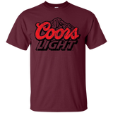Coors Light Beer Brand Logo Label T-Shirt