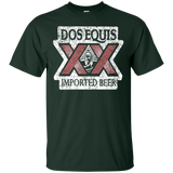 Dos Equis XX Lager Beer Brand Logo Label T-Shirt