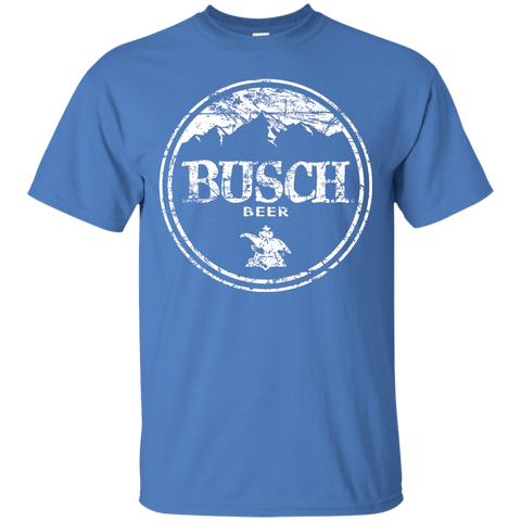 Busch Beer Brand Logo Label T-Shirt